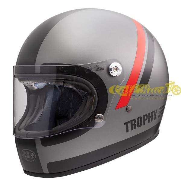 Casco integrale Premier TROPHY DO 17 BM in fibra