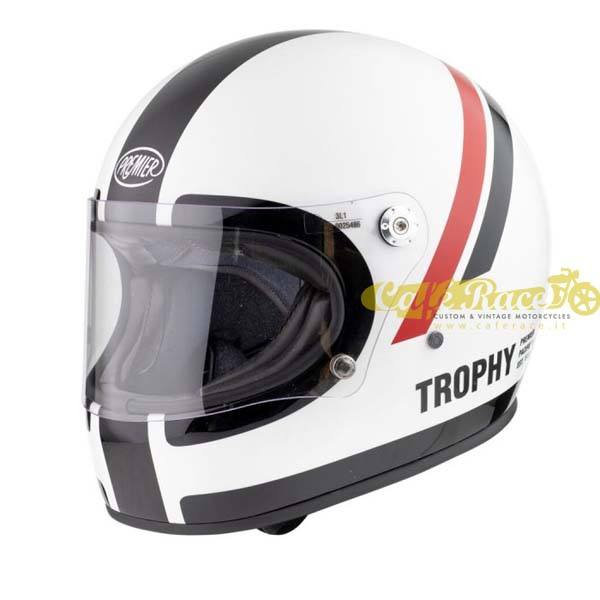 Casco integrale Premier TROPHY DO 8 in fibra