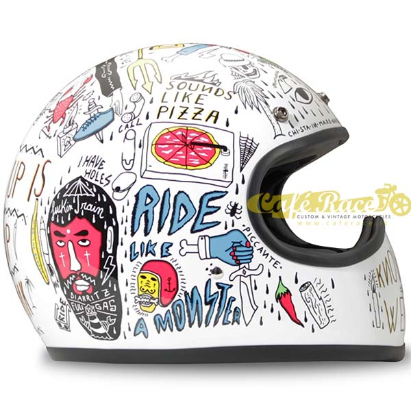 Casco integrale DMD RACER TRIBAL