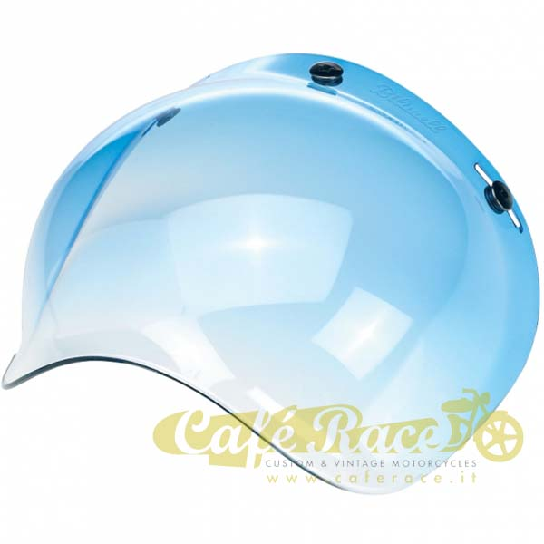 Visiera bolla bubble Biltwell Blue Gradient casco jet