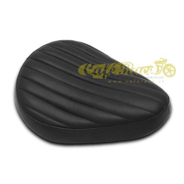 Sella Tuck n Roll in pelle colore nero