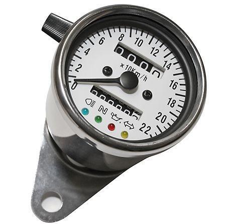 Contachilometri meccanico Ø 60 mm con spie K=1,0