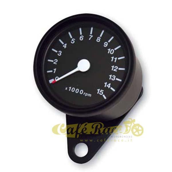 Contagiri nero elettronico Ø 60 mm – 15.000 rpm