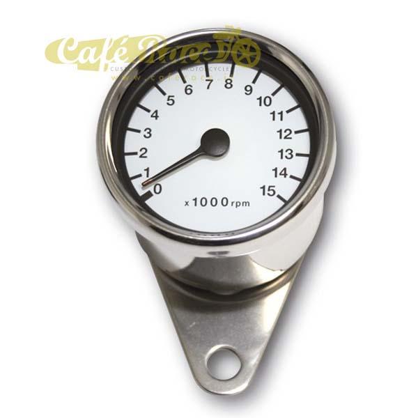 Contagiri cromato elettronico Ø 60 mm – 15.000 rpm