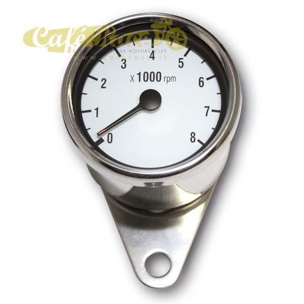 Contagiri cromato elettronico Ø 60 mm - 8.000 rpm