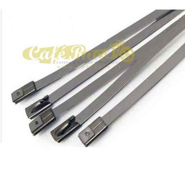 Fascetta in acciaio per fissaggio fasce termiche 20cm (1 pezzo)