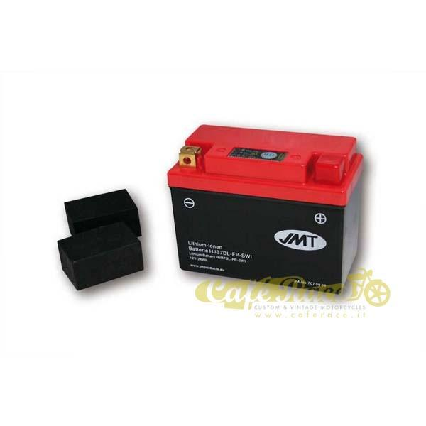 Batteria JMT ioni di litio 12V-140A 120 x 60 x 92 mm