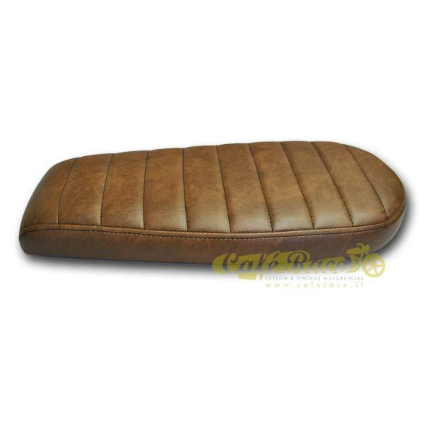 Sella brat colore chocolate brown cuciture dritte
