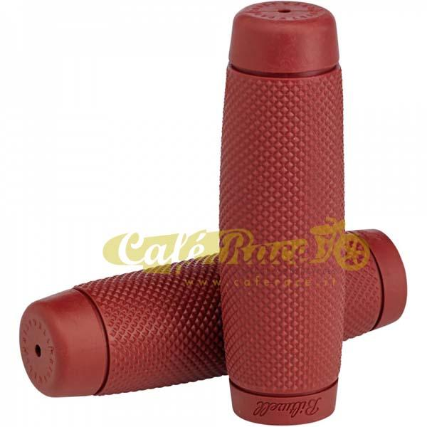 "Manopole BILTWELL RECOIL OXBLOOD Ø 7/8"" - 22mm"