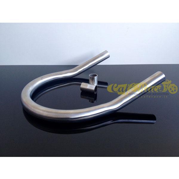 Archetto inclinato telaio caferacer Ø 25mm - larg. 212mm