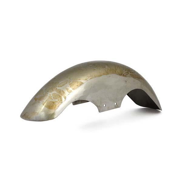 Parafango anteriore larghezza 12,5cm con staffe di fissaggio