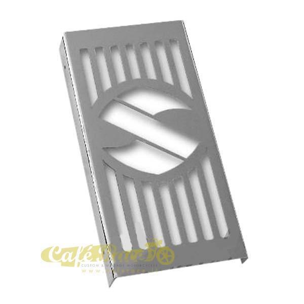 Copriradiatore cromato per Suzuki Intruder Volusia C800 / M800