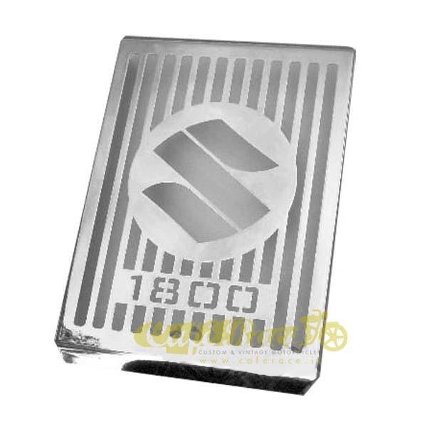Copriradiatore cromato per Suzuki C1800