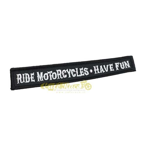 Patch BILTWELL RIDE MOTORCYCLES HAVE FUN