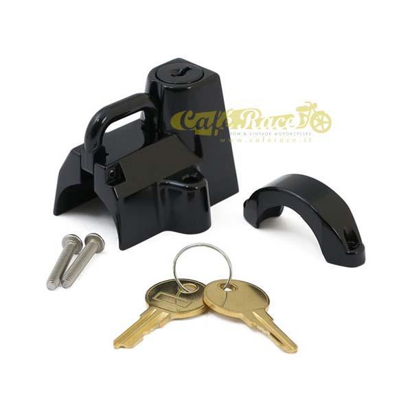 Lucchetto per casco nero universale