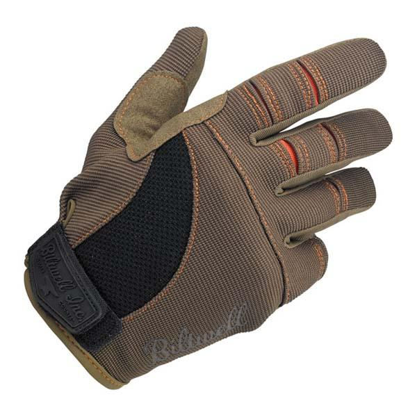 Guanti Biltwell Moto gloves brown/orange