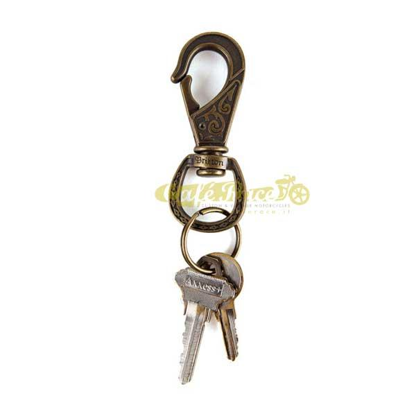 Portachiavi BRIXTON SCROLL KEY CLIP
