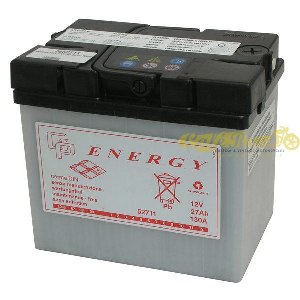 Batteria Energy 6MC4 12V 190 x 130 x 170 mm