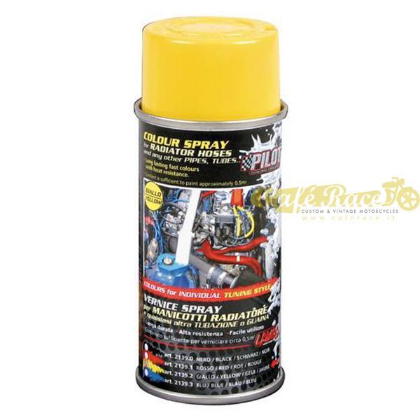 Vernice spray colore giallo per manicotti e tubazioni