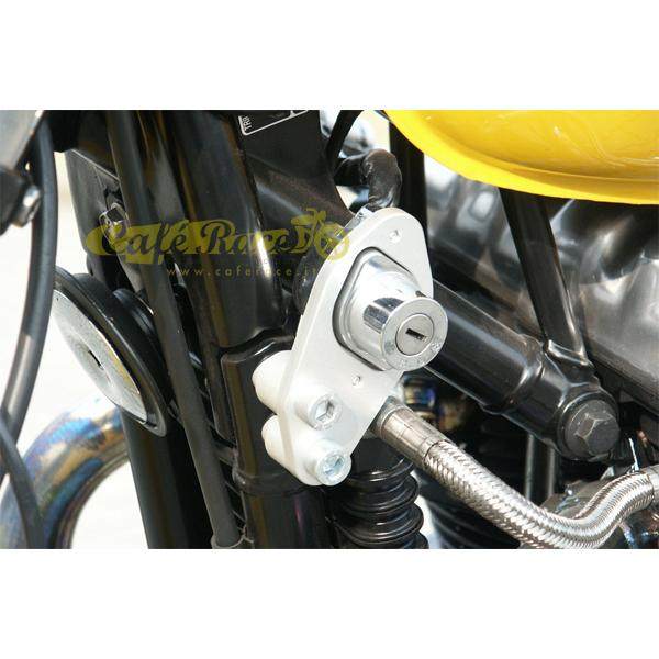 Kit LSL accensione laterale silver DX TRIUMPH BONNEVILLE 2001-2015