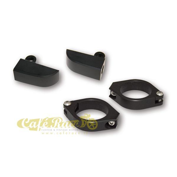 Supporti frecce CNC neri HIGHSIDER 42-43mm