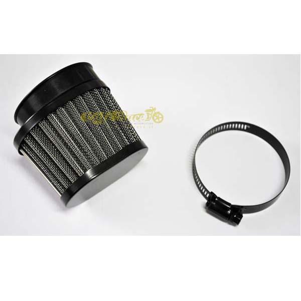 Filtro aria nero ovale 52 - 56mm