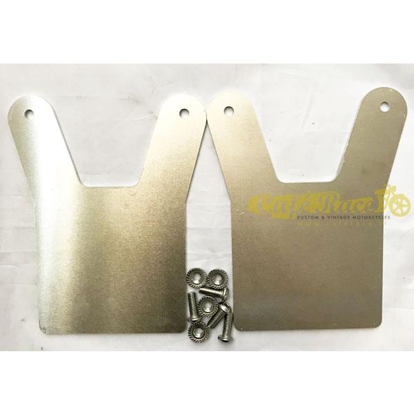 Supporti per parafango anteriore in alluminio
