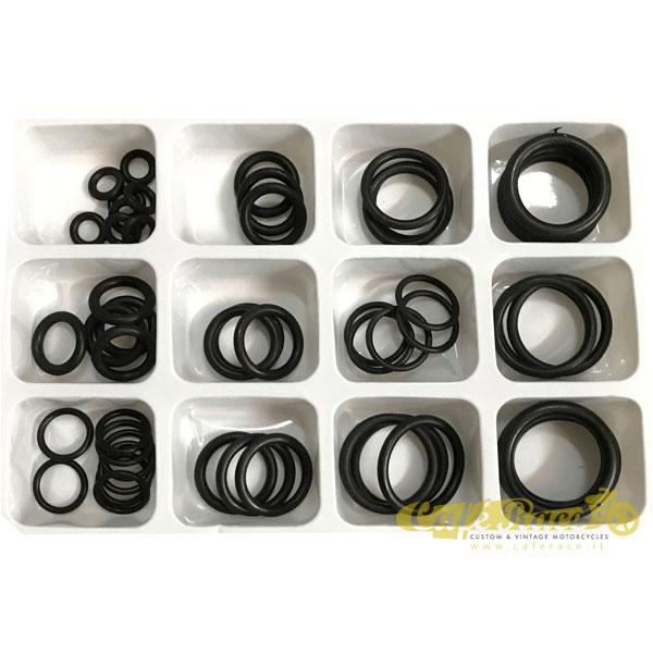 Kit O-ring di varie misure conf.50 pz