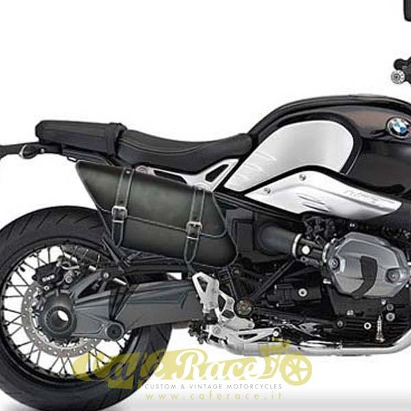 Borsa laterale SPAAN destra nera BMW R NINE T