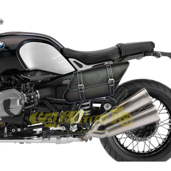 Borsa laterale SPAAN sinistra nera BMW R NINE T