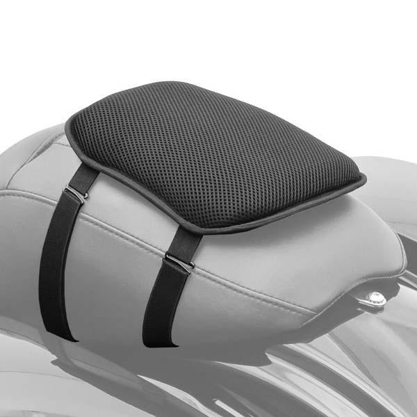 Cuscino sella guidatore / passeggero in gel 24,5 x 21 cm