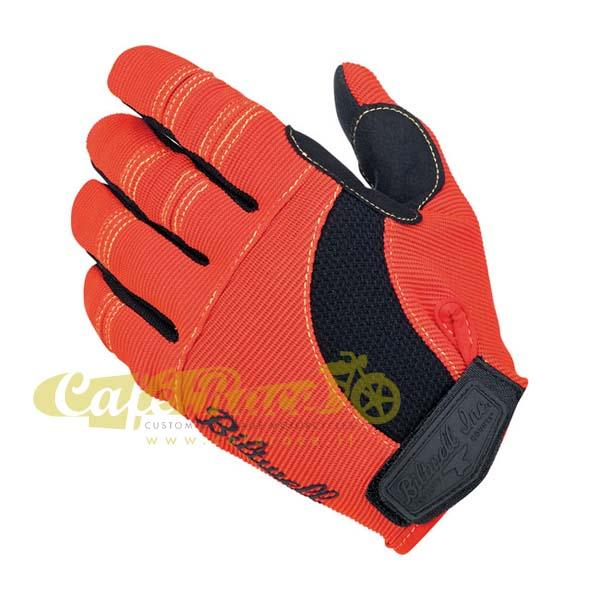 Guanti Biltwell Moto gloves orange/black