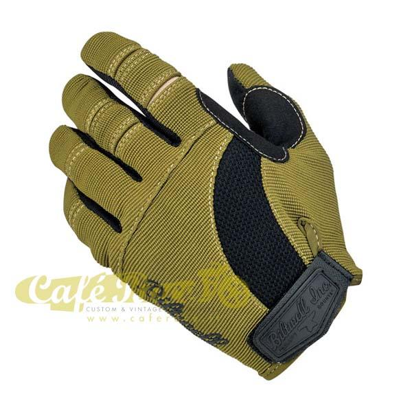Guanti Biltwell Moto gloves olive/black/tan