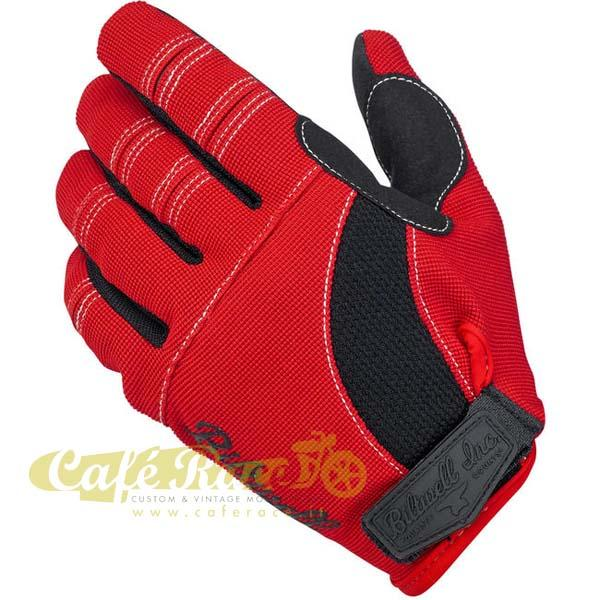 Guanti Biltwell Moto gloves red/black/white