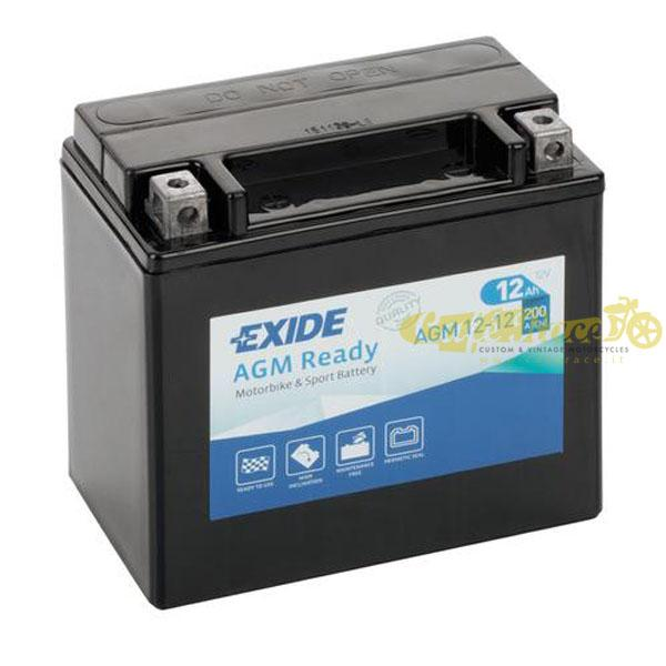 Batteria Exide Bike AGM Ready 12V-200A 150 x 90 x 145mm