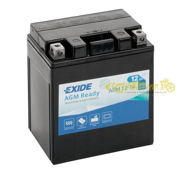 Batteria Exide Bike AGM Ready 12V-210A 135 x 90 x 165 mm