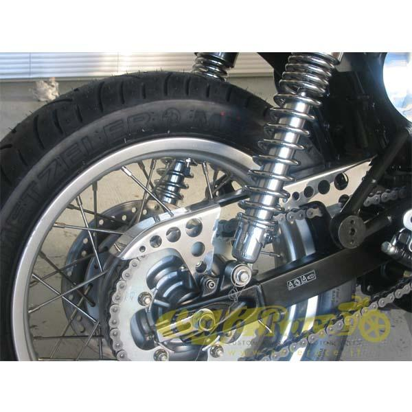 Carter caterna MAS engineering alluminio lucido TRIUMPH BONNEVILLE 2001-2015