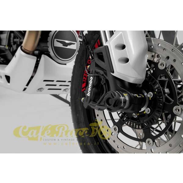 Tamponi paracolpi forcella anteriore SW-Motech Moto Guzzi V85 TT