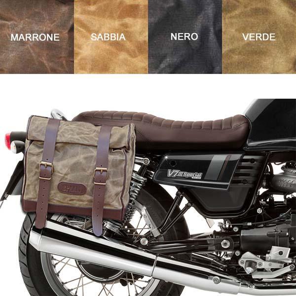 Kit borsa grande + telaio DX MOTO GUZZI V7 III