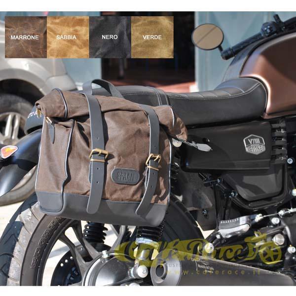 Kit borsa piccola + telaio DX MOTO GUZZI V7 III