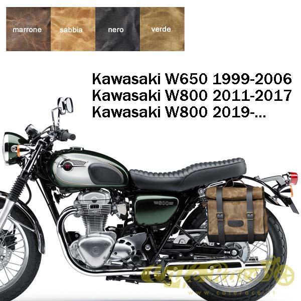 Kit borsa piccola + telaio SX KAWASAKI W800 - W650
