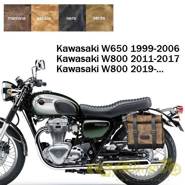 Kit borsa piccola + telaio DX KAWASAKI W800 - W650