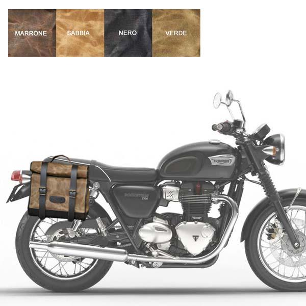 Kit borsa piccola + telaio DX TRIUMPH BONNEVILLE T100 EFI dal 2016