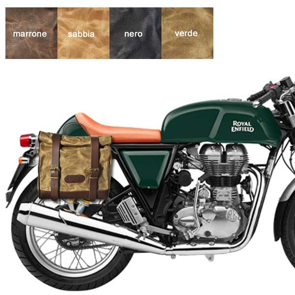 Kit borsa piccola + telaio DX ROYAL ENFIELD CONTINENTAL GT 500