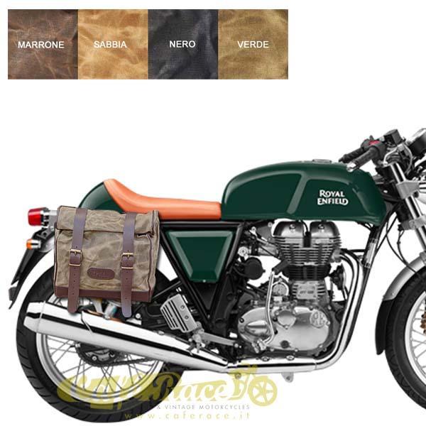 Kit borsa grande + telaio DX ROYAL ENFIELD CONTINENTAL GT 500