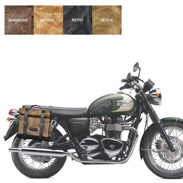 Kit borsa piccola + telaio DX TRIUMPH BONNEVILLE 2001-2015