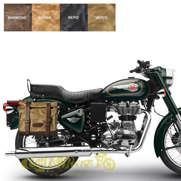 Kit borsa piccola + telaio DX ROYAL ENFIELD BULLET 500