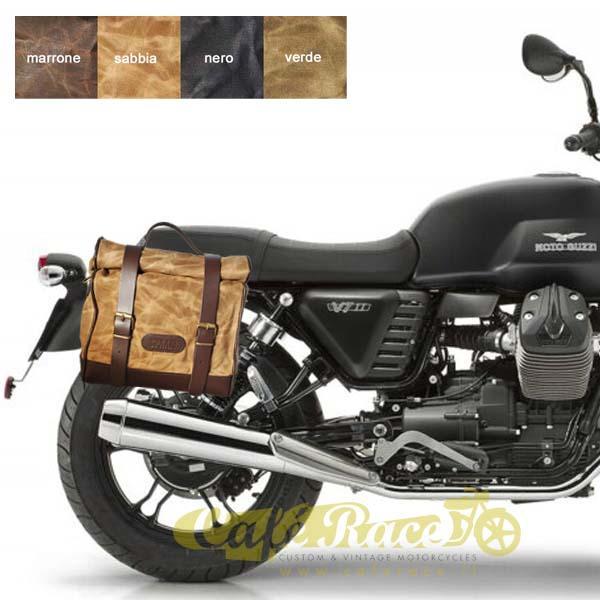 Kit borsa piccola + telaio SX MOTO GUZZI V7 - V7 II