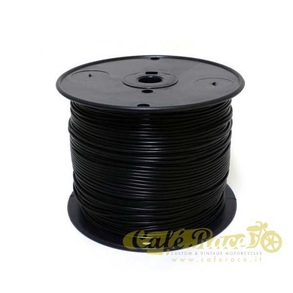 Cavo elettrico 0,8mm colore nero