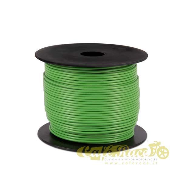 Cavo elettrico 0,8mm colore verde